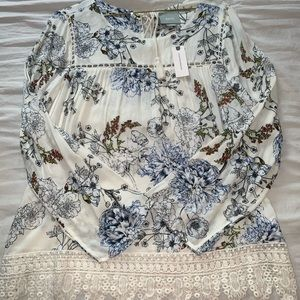 Anthropology blouse